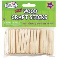 Krafty Kids Mini Wood Craft Sticks NOTM445003
