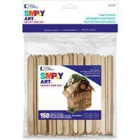 Simply Art Wood Craft Sticks NOTM426942