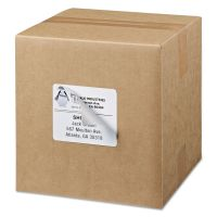 Avery Shipping Labels with TrueBlock Technology, Laser, 3 1/3 x 4, White, 3000/Box AVE95905