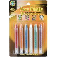 Face Paint Push-Up Crayons 6/Pkg NOTM317221