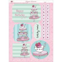 "3D Die-Cut Decoupage Sheet 8.3""X11.69"" NOTM321378"