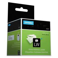 DYMO LabelWriter Address Labels, 1 1/8 x 3 1/2, White, 130 Labels/Roll, 2 Rolls/Pack DYM30251