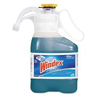 Windex Ultra Concentrated Multi-Surface Cleaner with Ammonia-D, 1.4 L Bottle, 2/Carton DVO95766540