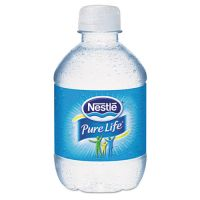 Nestle Waters Pure Life Purified Water, 8 oz Bottle, 48/Carton NLE12256656