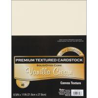 Core'dinations Premium Textured Vanilla Cream Cardstock  NOTM239404