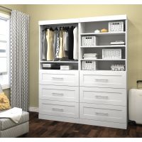 "Bestar Pur by Bestar 72"" Storage kit in White  BESBES2685617"
