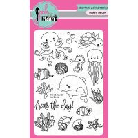 """Pink & Main Clear Stamps 4""""X6"""" NOTM035284"""