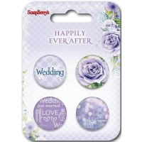 ScrapBerry's Happily Ever After Embellishments NOTM227190