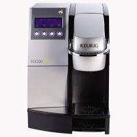 "Keurig K3000SE Commercial Brewer, 12""w x 18""d x 17 2/5"", Silver/Black GMT23000"