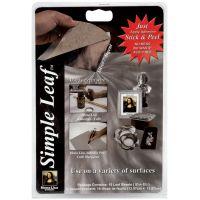 """Mona Lisa Simple Leaf Metal Sheets 5.5""""X5.5"""" 18/Pkg NOTM319913"""