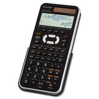 Sharp EL-W516XBSL Scientific Calculator, 16-Digit LCD SHRELW516XBSL