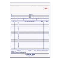 Rediform Purchase Order Book, 8 1/2 x 11, Letter, Two-Part Carbonless, 50 Sets/Book RED1L146
