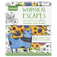 Crayola Whimsical Escapes Coloring Book  CYO992021