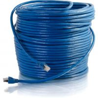 C2G 200 ft Cat6 Snagless Solid Shielded Network Patch Cable - Blue SYNX3455434