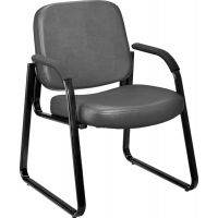 OFM Anti-Microbial/Anti-Bacterial Vinyl Guest/Reception Chair with Arms OFM403VAM604