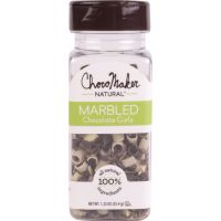 ChocoMaker(R) Natural Marbled Chocolate Curls 1.25oz NOTM241180