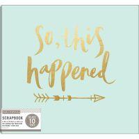 "K&Company Phrase Post Bound Album 12""X12"" NOTM310654"