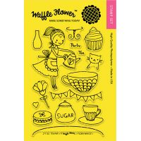 "Waffle Flower Crafts Clear Stamps 4""X6"" NOTM322065"