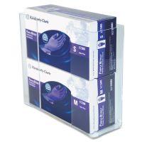 Unimed Wall-Mount Glove Box Holder, 2-Box, Acrylic, Clear, 11 x 3 1/2 x 9 1/2 UMICCG2061281