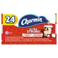 Charmin Ultra Strong Toilet Paper, 2-Ply, White, 4 x 3.92 Sheet, 71 Sheets/Roll, 24 Rolls/Pack PGC99016