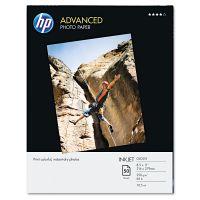 HP Advanced Photo Paper, 56 lbs., Glossy, 8-1/2 x 11, 50 Sheets/Pack HEWQ7853A