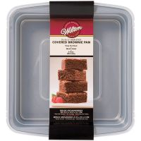 Wilton Recipe Right Brownie Pan With Cover NOTM237343