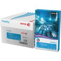 Xerox Vitality Multipurpose Printer Paper, 92 Brightness, 20 lb, 8 1/2 x 14, White, 5000 Sheets/Carton XER3R02051CT
