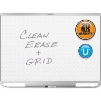 Quartet Prestige 2 Magnetic Total Erase Whiteboard, 96 x 48, Aluminum Frame QRTTEM548A