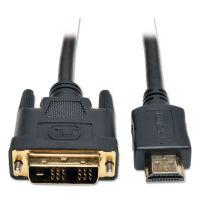 Tripp Lite P566-010 10ft HDMI to DVI Gold Digital Video Cable HDMI-M / DVI-M, 10 TRPP566010