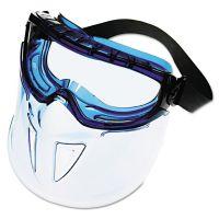 Jackson Safety* V90 Series Face Shield, Blue Frame, Clear Lens KCC18629