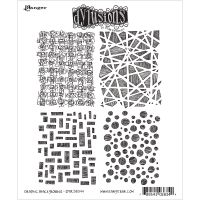 "Dyan Reaveley's Dylusions Cling Stamp Collections 8.5""X7"" NOTM360172"