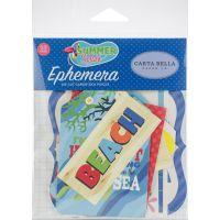 Summer Splash Ephemera Cardstock Die-Cuts 33/Pkg NOTM337506