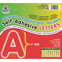 Pacon Reusable Self-Adhesive Letters PAC51621