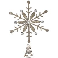 "Jewel Snowflake Tree Topper 14"" NOTM226596"