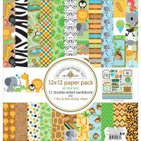 "Doodlebug Double-Sided Paper Pack 12""X12"" NOTM311095"
