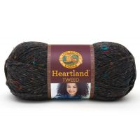 Lion Brand Heartland Yarn - Black Canyon Tweed NOTM402216