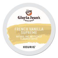 Gloria Jean's Coffee K-Cups, French Vanilla Supreme, Medium Roast, 24 K-Cups DIE60051046