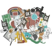 Game On! Collectables Cardstock Die-Cuts NOTM436066