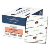Hammermill Recycled Colored Paper, 20 lb, 8 1/2 x 11, Salmon, 500 Sheets/Ream HAM103119
