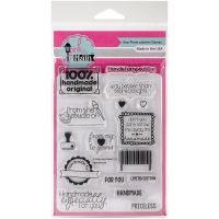 """Pink & Main Clear Stamps 4""""X6"""" NOTM375696"""