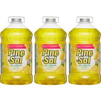 Pine-Sol All Purpose Cleaner, Lemon Fresh, 144 oz Bottle, 3/Carton CLO35419CT