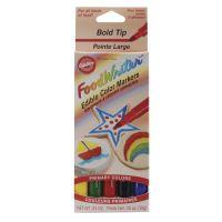 Food Writer Bold Tip Edible Color Markers .35oz 5/Pkg NOTM368959
