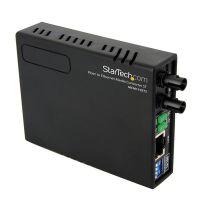 StarTech.com 10/100 Fiber to Ethernet Media Converter Multi Mode ST 2 km SYNX2536259