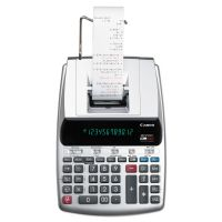 Canon MP25DV 12-Digit Ribbon Printing Calculator, Black/Red Print, 4.3 Lines/Sec CNM2202C001