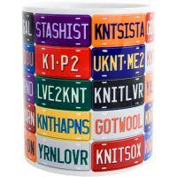 K1C2 Knit Happy Mug 11oz NOTM076284