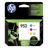 HP 952, (N9K27AN) 3-pack Cyan/Magenta/Yellow Original Ink Cartridges HEWN9K27AN