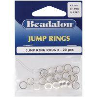 Jump Rings 7.6mm 20/Pkg NOTM340437