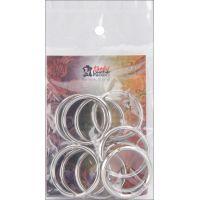 Nickel Split Key Rings NOTM211996