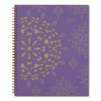 AT-A-GLANCE Vienna Weekly/Monthly Appointment Book, 8 1/2 x 11, Purple, 2019 AAG122905