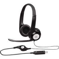 Logitech H390 USB Headset w/Noise-Canceling Microphone LOG981000014